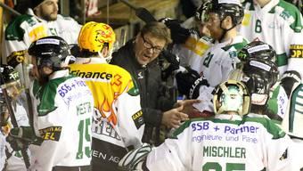 Das wars: Heikki Leime ist nicht mehr Trainer des EHC Olten. hr. aeschbacher