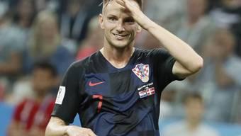 Ivan Rakitic, Kroatiens Held im Penaltyschiessen gegen Russland.