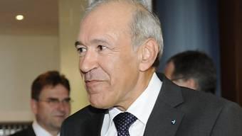 Ernst Hasler ist sehr zufrieden mit Guy Parmelins Wahl zum Bundesrat. Schliesslich arbeitete er daran mit, dass Parmelin als Kandidat nominiert wurde.