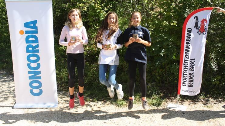 von links Jennifer Sutter, Pascale Kohler, Elena Butler.