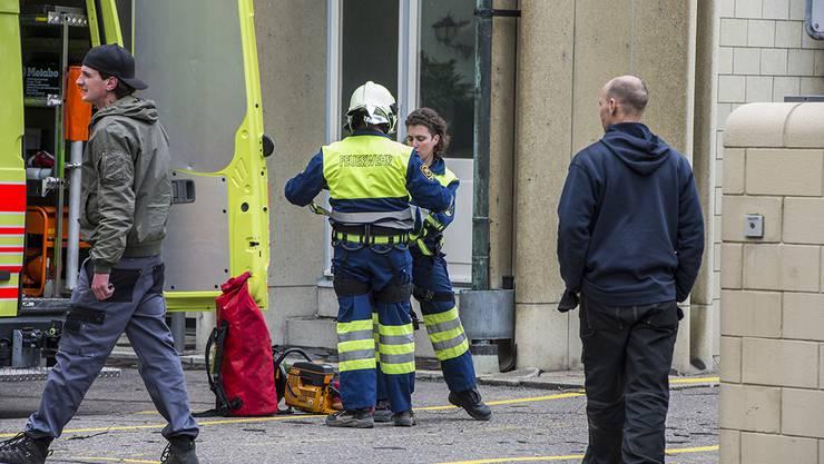 Sturm Niklas reisst in Zürich Kirchendach herunter