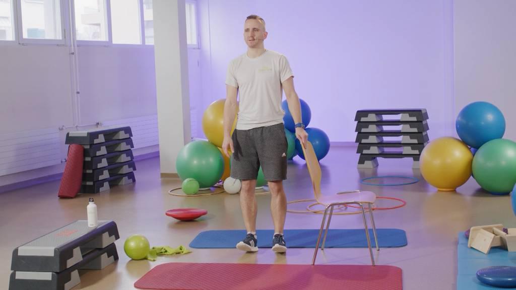 «Gymnastik im Wohnzimmer» vom 12. April 2021