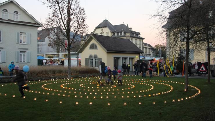 Lichterzauber im Stadtgarten