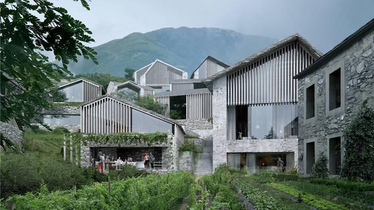Neben einem Hotel sollen auch Appartements auf dem Monte Brè entstehen.