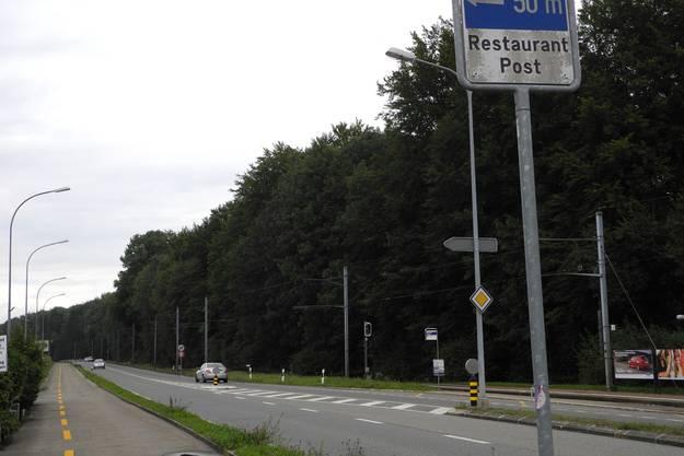 Zwischen Riedholz-Feldbrunnen wird gebaut.