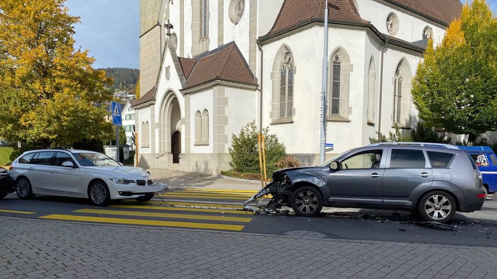 Marienkäfer-Rettungsversuch führt zu Unfall mit drei Autos