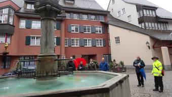 Aus den Laufenburger Brunnen könnte bald Trinkwasser von auswärts fliessen.