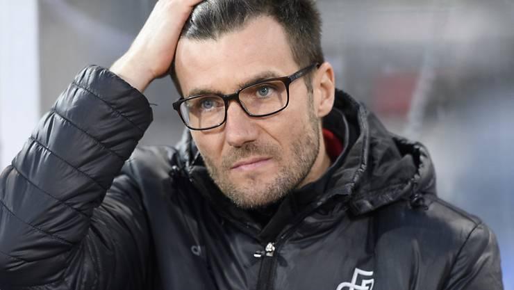 Raphael Wicky ist bedient. Sein FC Basel leistet sich gegen Lausanne den nächsten Ausrutscher