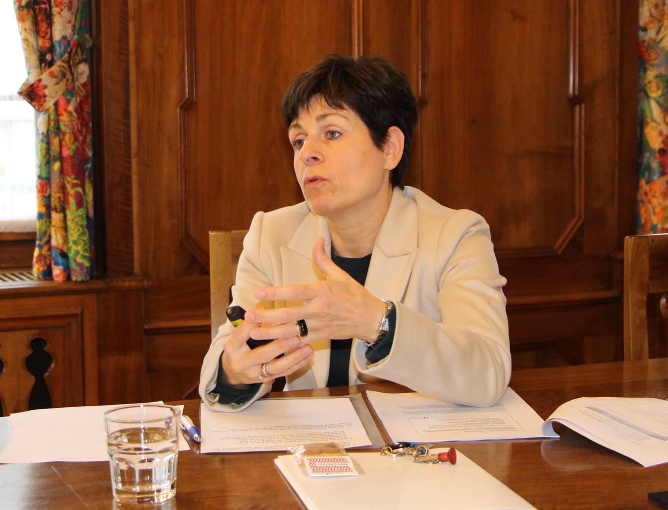 Patrizia Adam, Stadträtin und Vorsteherin «Bau und Planung» © FM1Today