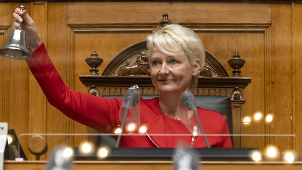 Die FDP-Nationalrätin Isabelle Moret kandidiert für einen Sitz in der Waadtländer Regierung. (Archivbild)