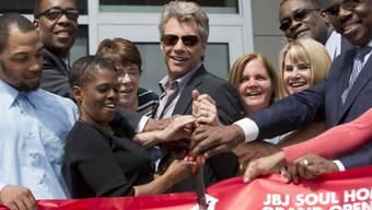 Jon Bon Jovi bei der Eröffnung am Dienstag (Archiv)