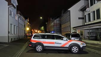 Mann durch Schuss in Amriswil verletzt.