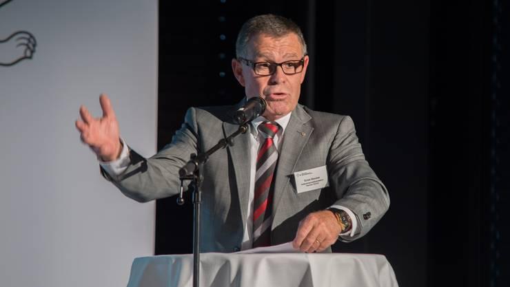Ernst Stocker: « Es liegt am Bundesrat, den Richtplan zu genehmigen oder nicht.» (Archiv)