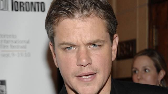 Schauspieler Matt Damon (Archiv)