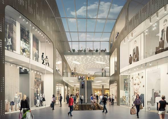 Ansicht Dreiländergalerie Mall