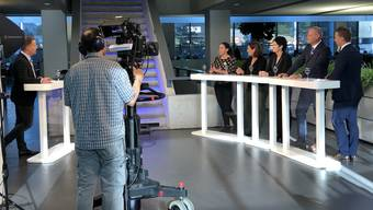 Kopie von Das Making of: «Talk Täglich spezial» zu den Wahlen im Aarauer Newsroom.