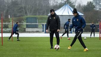FCB-Training, 06.01.2020