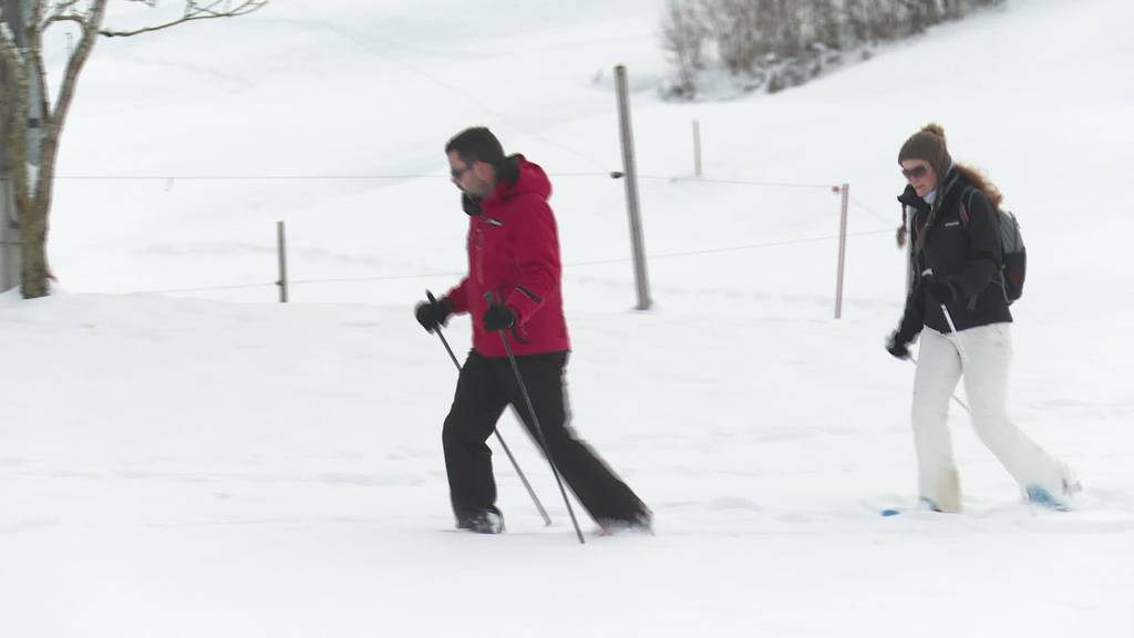 Boom: Invasion von Schneeschuhläufern in der Ostschweiz