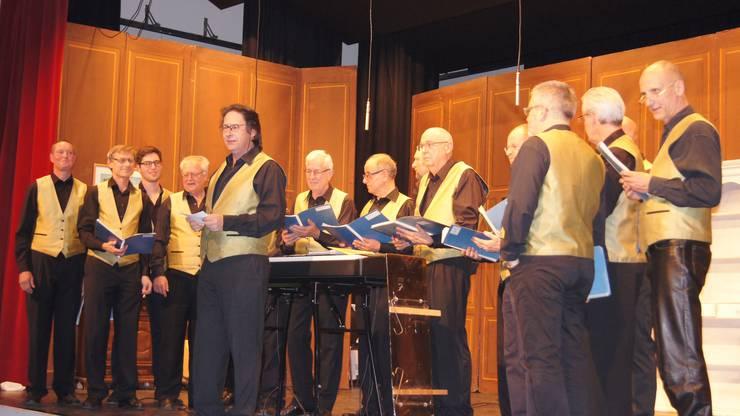 Der verjüngte Chor  Spezicanto  trumpfte mit seinen Liedern gross auf.
