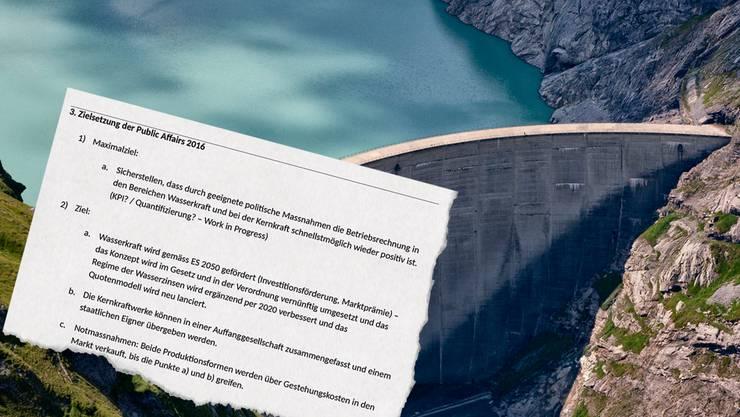 Die Energiekommission des Nationalrats will die Wasserkraft mit einer Abnahmegarantie stützen.