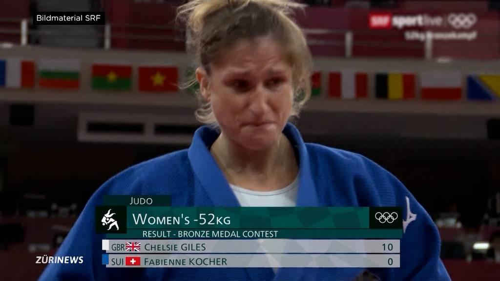 Judoka Fabienne Kocher verpasst haarscharf Olympia-Medaille