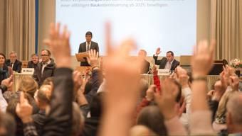Den traktandierten Sachgeschäften an der Villmerger Gmeind wurde von den Stimmberechtigten mit deutlichen Mehrheiten zugestimmt.