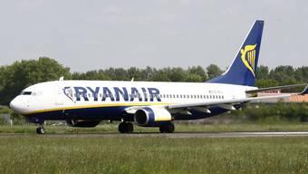 Eine Ryanair-Maschine musste in Genua notlanden (Symbolbild)