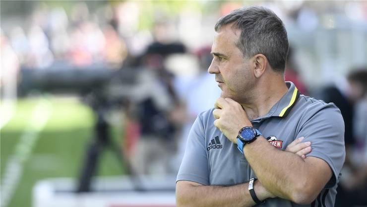 Thomas Jent, Trainer des FC Baden.AWA