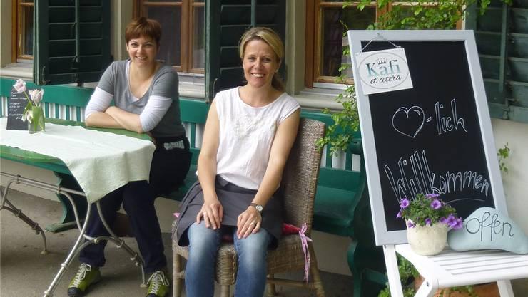 Simone Iseli und Brigitte Winz (rechts) haben das «Kafi etc.» eröffnet.