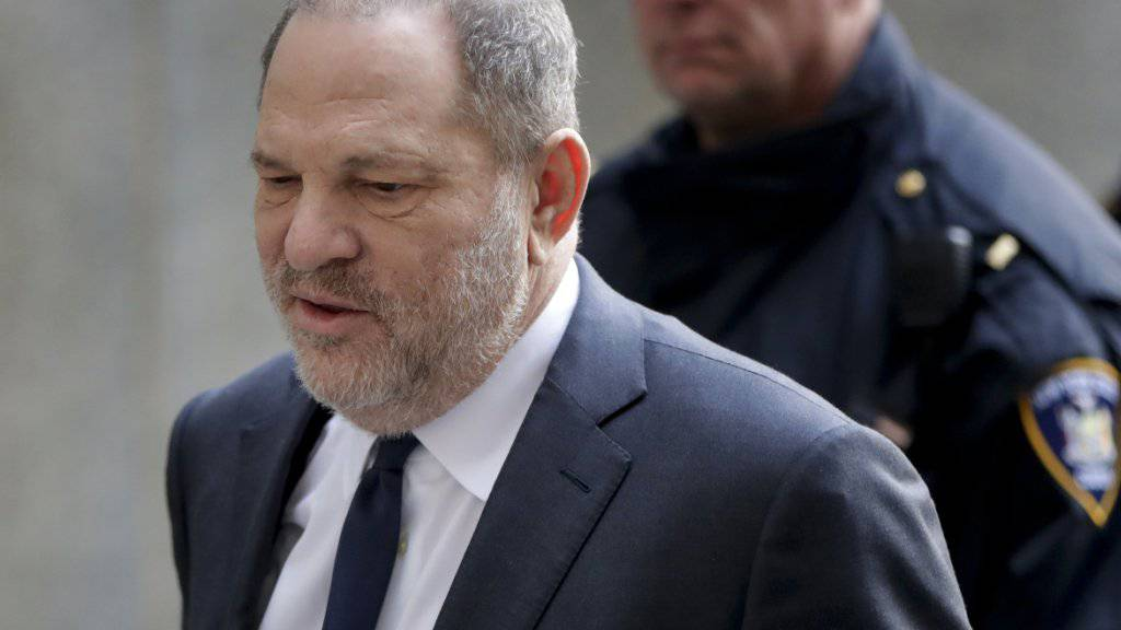 Harvey Weinstein dürfte ab Mai der Prozess gemacht werden (Archivbild).