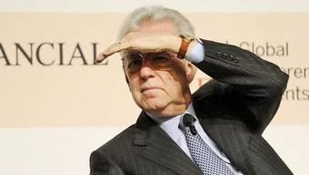 Sieht sich geringer Unterstützung gegenüber: Der italienische Ministerpräsident Mario Monti (Archiv)