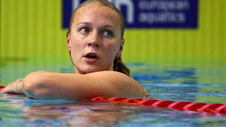 Sarah Sjöström verbesserte ihren Kurzbahn-Weltrekord über 100 m Crawl