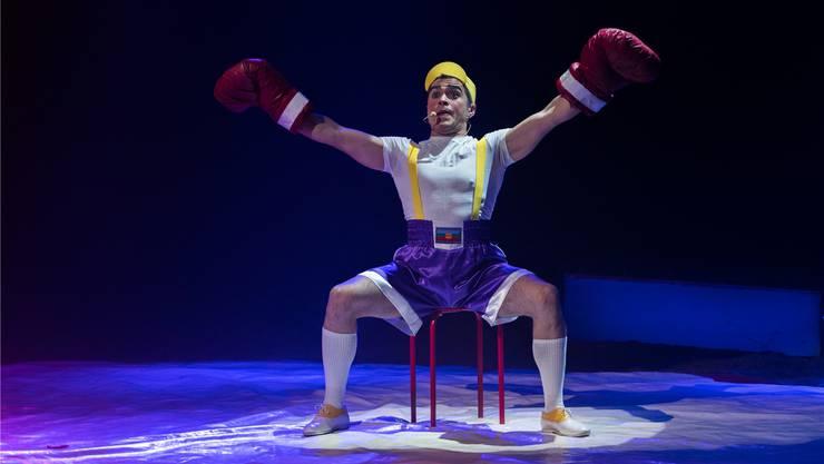 «Er wusste das Publikum zu überzeugen», sagt Circus-Direktorin Alexandra Nock über Clown Matute. Archiv/MH