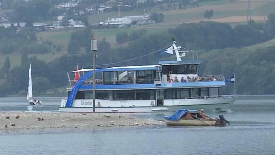 Schifffahrt auf Hallwilersee wird zur Herausforderung