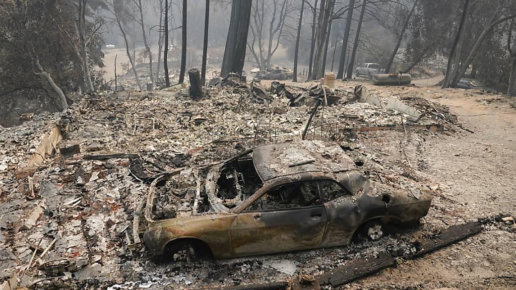 Feuerwehr in Kalifornien befürchtet noch mehr Zerstörung