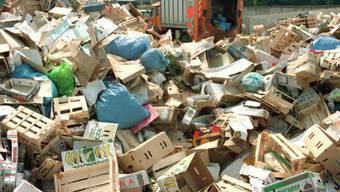 Müllberge sollen künftig in Frankreich der Vergangenheit angehören. (Symbolbild)