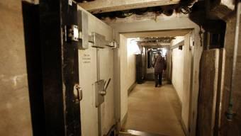 Die Teilnehmer der SF-Sendung «Alpenfestung» werden unterirdisch in einem Réduit leben.