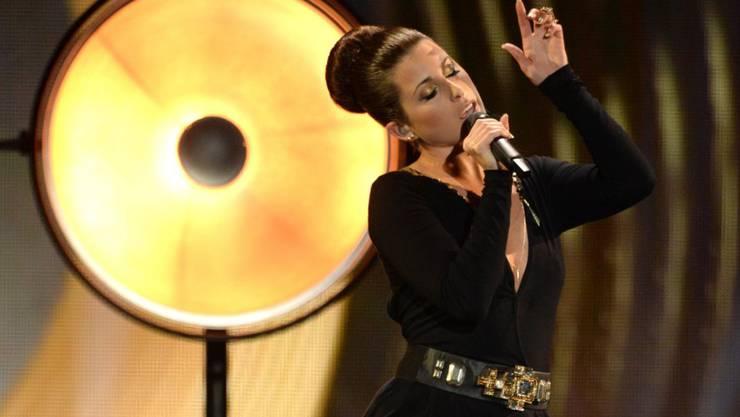 Für die deutsche ESC-Kandidatin Ann Sophie (im Bild) verlief der Wettbewerb 2015 etwa ähnlich erfolglos wie der diesjährige Halbfinal für die Schweizer Sängerin Rykka. (Archivbild)