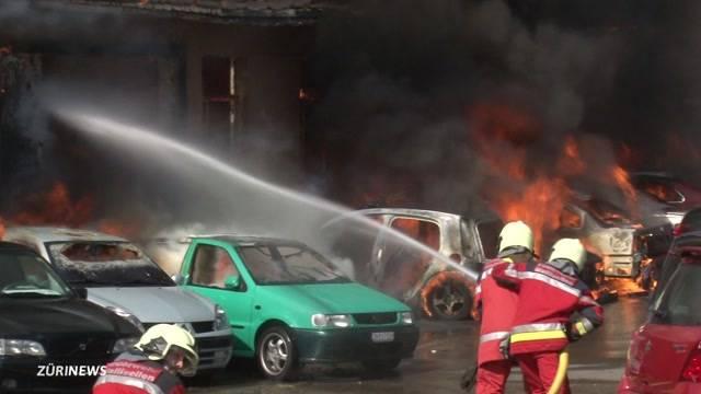 Brandbekämpfung bei Gluthitze