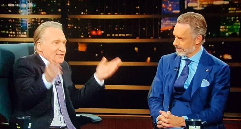 Zwei Männer, eine Meinung: Jordan Peterson zu Gast in der US-Talkshow von Bill Maher. Beide verachten politische Korrektheit. Peterson ist in den Medien Dauerpräsent, wenn es um Redefreiheit geht. In Kanada lösten seine Ansichten Massenproteste aus.