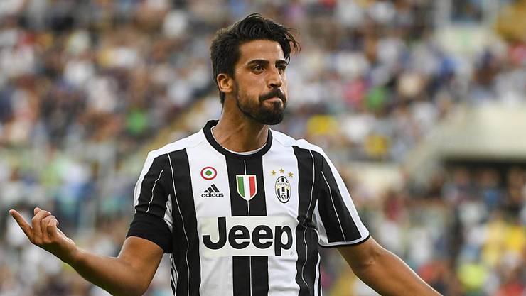 Juves Torschütze beim 1:0-Auswärtssieg gegen Lazio Rom: Sami Khedira