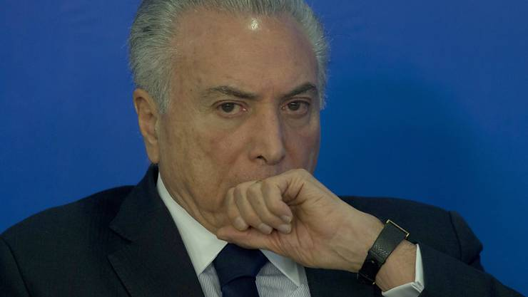Neues Ungemach: Die Generalstaatsanwaltschaft reichte beim Obersten Gerichtshof in Brasilia eine weitere Klage gegen den brasilianischen Präsidenten Michel Temer ein. (Archivbild)