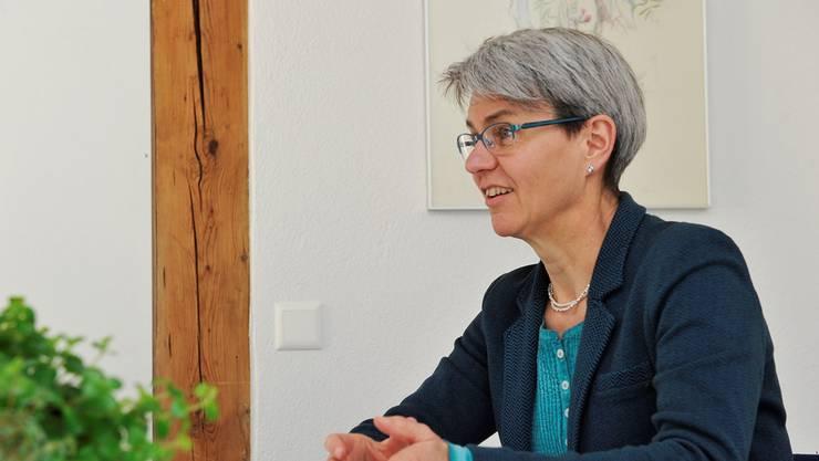 Verena Meyer will den Bucheggern eine gemeinsame Mentalität einpflanzen, ohne die alten Dorfkulturen zu zerstören.