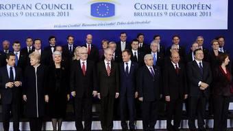 """Bald ohne einen Briten? """"Familienfoto"""" von EU-Staats- und Regierungschefs (Archiv)"""