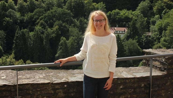 Céline Häberli wurde in Luxemburg im Service selbstsicherer.