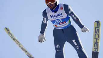 Mit einem Supersprung an die Spitze: Killian Peier liegt auf der Bergisel-Schanze in Innsbruck auf Podestkurs