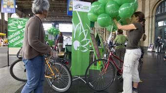 Die Zürcher Grünen sind am vergangenen Wochenende bei den Regierungs- und Kantonsratswahlen abgestürzt.