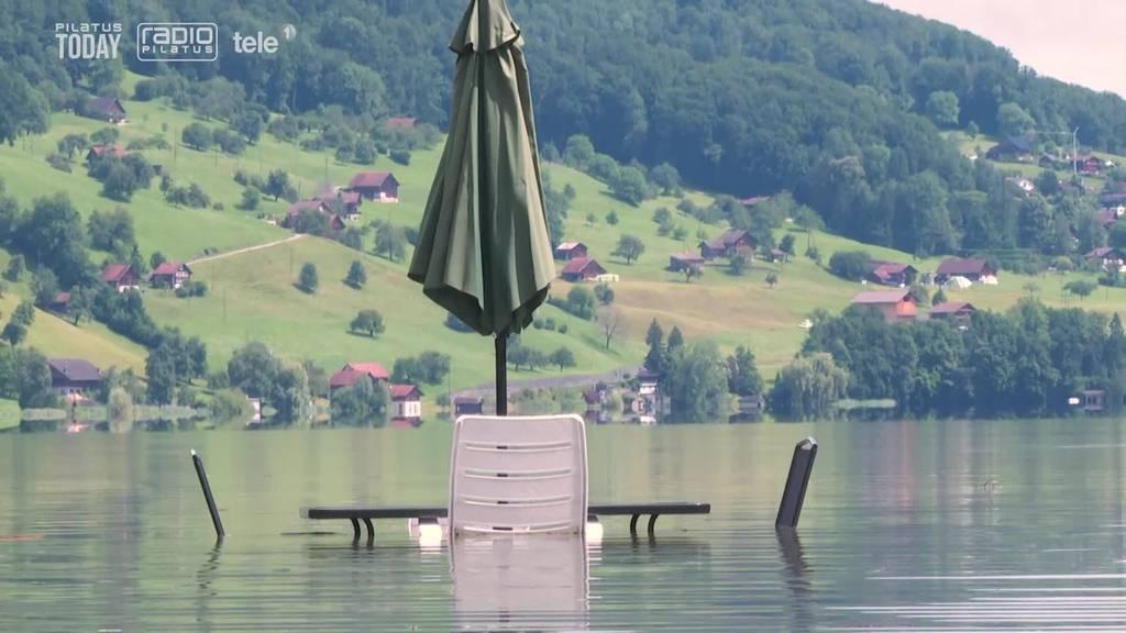 Für die Badis ist der Sommer wortwörtlich ins Wasser gefallen