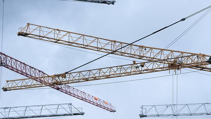 Ende des Baubooms: Prognostiker sagen der Baubranche in Europa eine Abschwächung voraus. (Archiv)