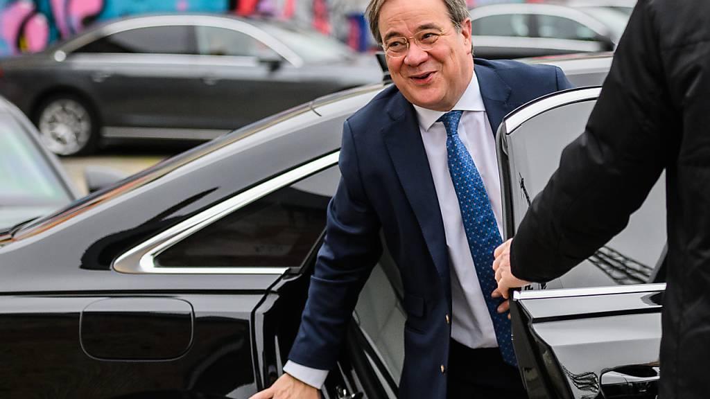 CDU nimmt Anlauf ins Superwahljahr - Laschet zu Gast im Südwesten